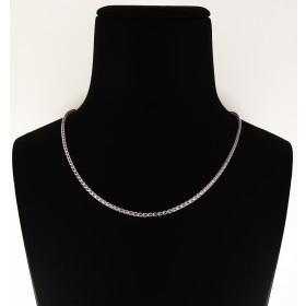 Collana in Argento 925 con pietre rosa chiaro